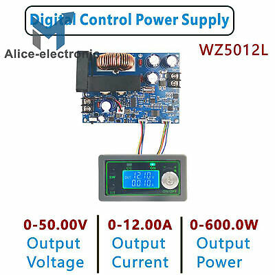 50v Programmable Cnc Adjustable Step-down Power Supply Module Lcd Display B2ae