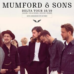 Mumford & Sons Tickets Vancouver Aug. 7, 2019