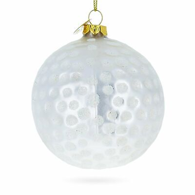Golf Ball Ornaments (Golf Ball Glass Christmas)