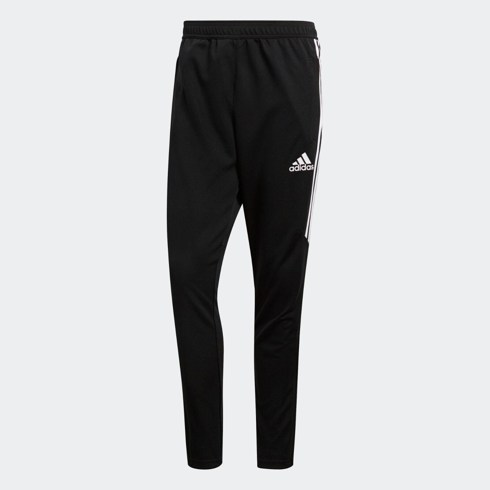 Mens Adidas Tiro 17 Black Sport Athletic Soccer Training Pants BS3693 Sz SML-XXL