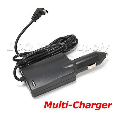 USB power cord car charger for GARMIN Dezl 760lmt 770lmthd 560 570 580 truck GPS