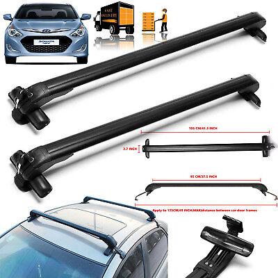 Car Luggage Roof Rack Cross Bar Carrier Adjustable For Hyundai Sonata 2010-2017