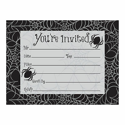 Einladungen Einladungen Spinnen & Spinnennetz Design (Halloween-party-einladungen)
