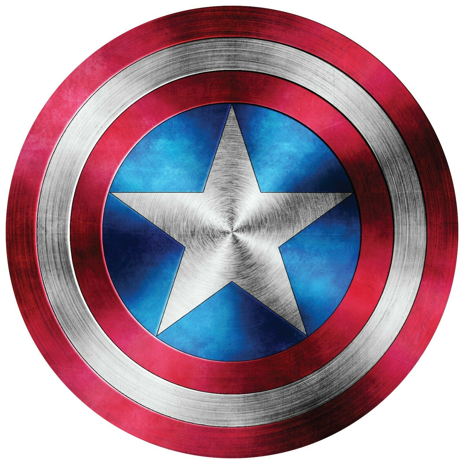 Home Decoration - Captain America Shield Logo Comic Superhero Vinyl Decal Buy2 Get3rd Free Sticker