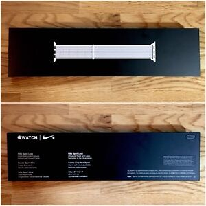 RARE: Apple Nike+ Sport Loop (44 mm) Reflective Summit White