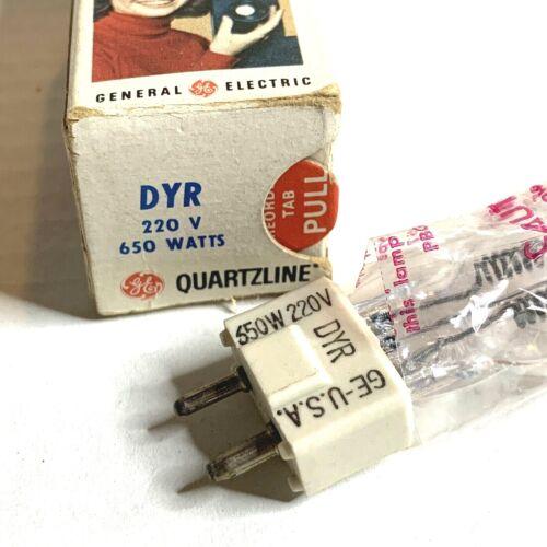 Quartzline DYR 220V 650W Halogen Lamp for ARRI Fresnel CP89 GY9.5 Light Bulb