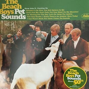 THE BEACH BOYS 'PET SOUNDS' Mono Reissue on 180G LP Vinyl New / Sealed