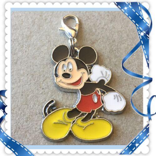 ❤️ Disney Mickey Mouse ❤️ Zipper Pull Charm with Lob