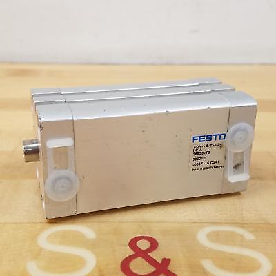 Festo Adn-1 58-2.5-i-p-a Pneumatic Cylinder Compact 1-58 Piston 2.5 Stroke