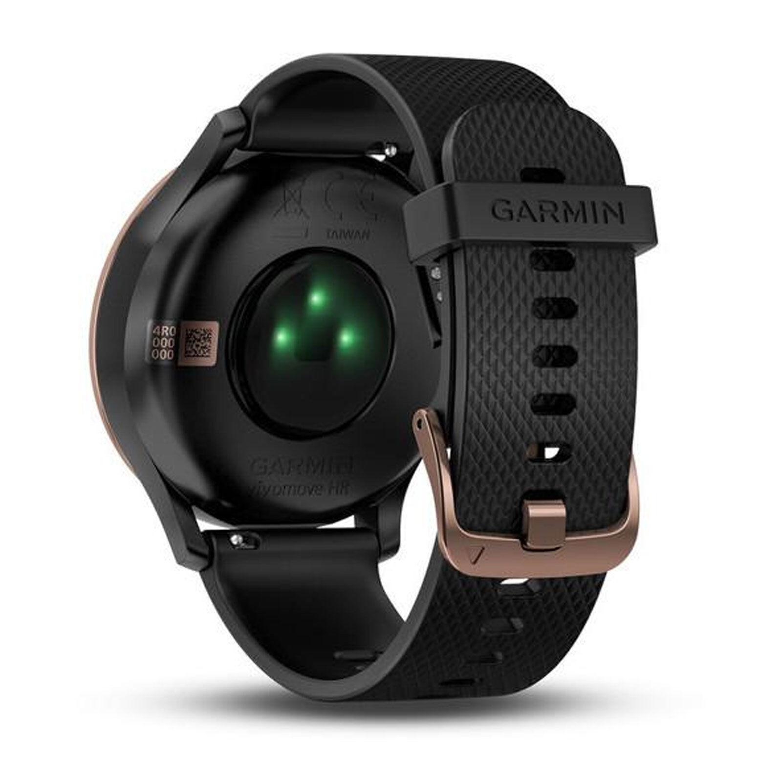 Garmin Vivomove Sport HR schwarz Fitnesstracker Sportuhr Herzfrequenz Smartwatch