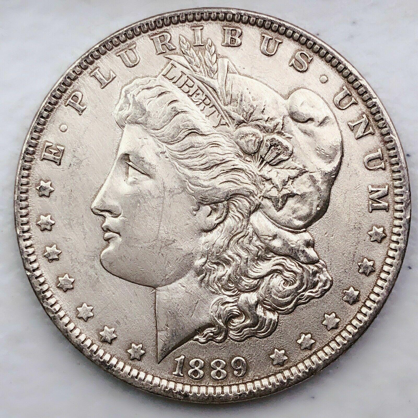 1889 Morgan Silver Dollar AU Free Shipping 1003 - $7.50