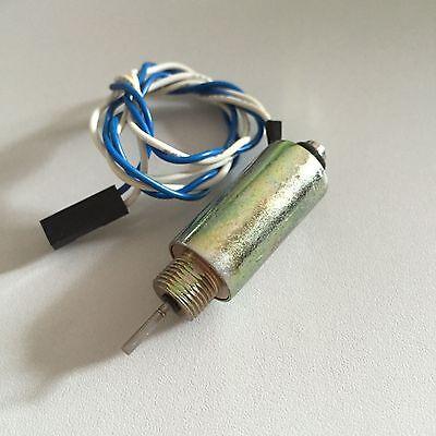 48v 15.36w 8mm 50gf 2mm 200gf Pull Push Linear Tubular Solenoid Electromagnet