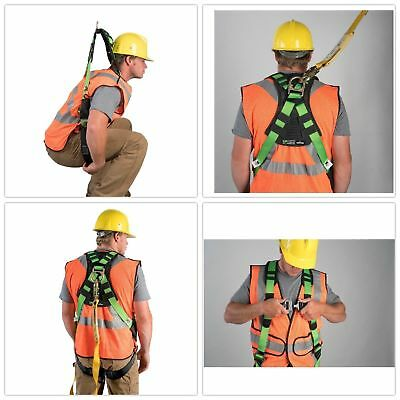 Lineman Safety Harness Vest Body Fall Protection Snap-in Climbing Tree Stand