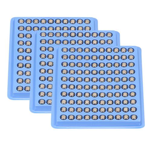 200pcs  AG4 1.5V Alkaline Coin Button Cell Watch Batteries L