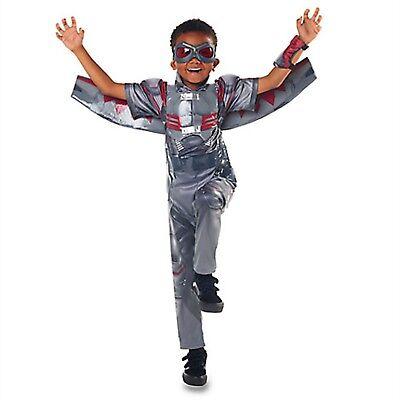 Disney Store Falcon Marvel Captain America Costume Super Hero Boy Wing Halloween