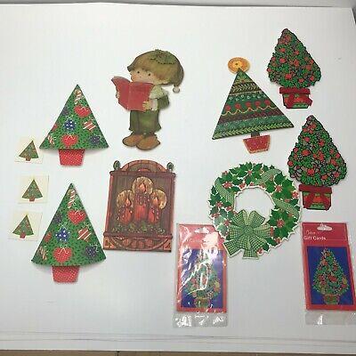 19 Vintage Christmas Package Decoration Gibson Hallmark Seasons Greetings mouse