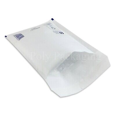 300 x WHITE BUBBLE ENVELOPES 150x215mm(C/0)(EP3)Padded Bags SMALL Posting