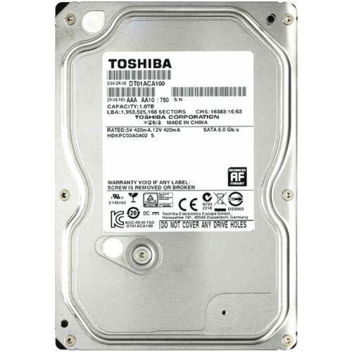 """TOSHIBA DT01ACA100 1TB 7200 RPM 32MB Cache SATA 6.0Gb/s 3.5"""" Internal Hard Drive"""