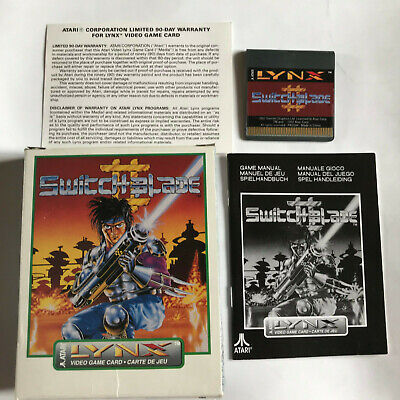 Switchblade II (2) / VGC / Boxed With Instructions / Atari Lynx Game / #2