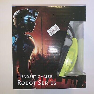 Headset Gamer Robot Series Nob Stereo Gaming Headphone E25