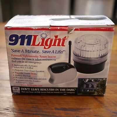 NEW NIB 911 Light Medical Emergency Call System Xenon Beacon Call Light - Medical Light System