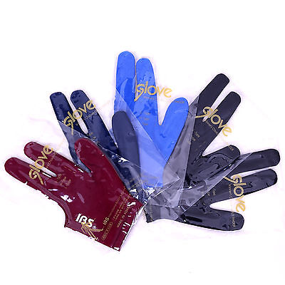 100 pcs IBS BILLIARD THREE FINGERS GLOVE Fits Both Men Women Spandex Snooker