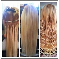 Affordable Remy hair extensions best quality contact780-907-7667