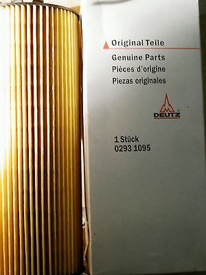 Deutz Deutz-fahr Canister Oil Filter 0293 1095 Liquid Cooled 1012 2012 Ser