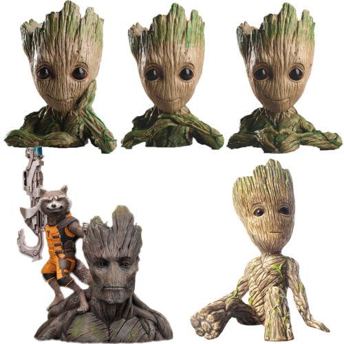 Guardians of The Galaxy Baby Groot Figuren Blumentopf Kinder Spielzeug Figur Toy