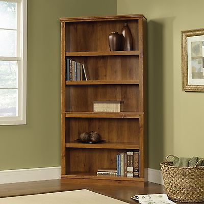 5-Shelf Bookcase - Abbey Oak - Sauder Select Collection (410175)
