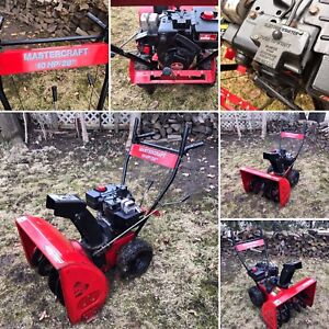 """*** New price***  Snowblower. 10 hp 28"""" Auger. All tune up"""