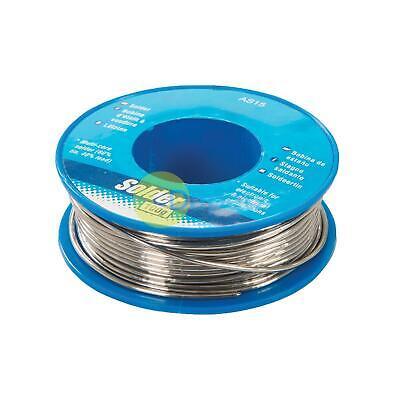 100g 1.0mm 6040 Tin Lead Solder Wire Rosin Core Soldering 2 Flux Reel Fluxed