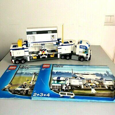 LEGO CITY 7743 POLICE COMMAND CENTER