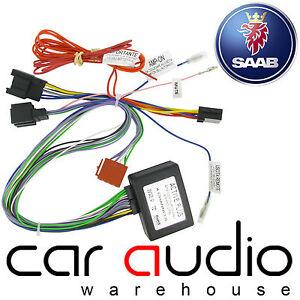 ct53 sa01 saab 9 3 2006 onwards car stereo amplified active speaker adaptor lead ebay