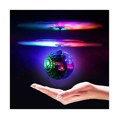Geekercity Mini Flying RC Drone Helicopter Infrared Induction LED Remote Ball...