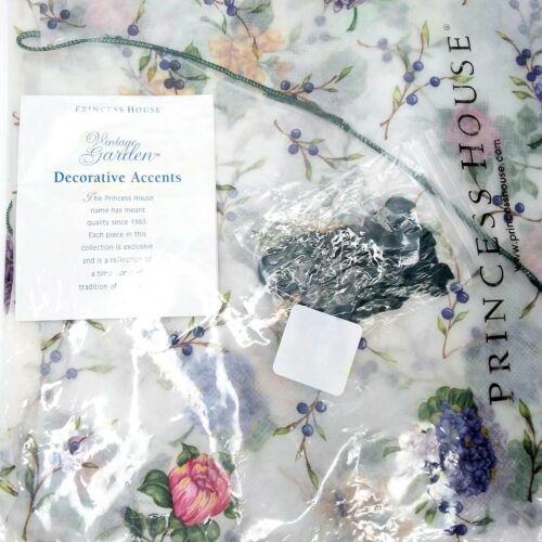 RARE New Princess House Vintage Garden 3 Decorative Cloths Wraps with Cording