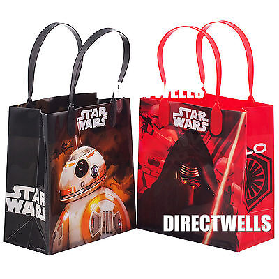 Disney Star Wars Authentic Licensed Small Party Favor Goodie Loot Gift 12 Bags