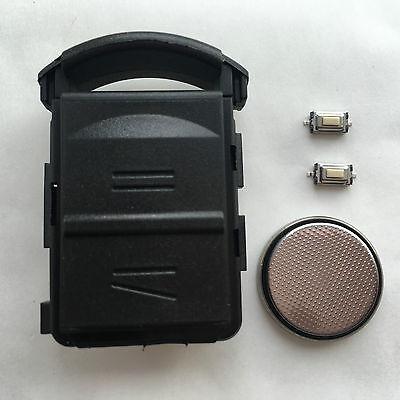 Vauxhall Opel Corsa C Agila Combo 2 Button Remote Key Fob Case FULL Repair Kit
