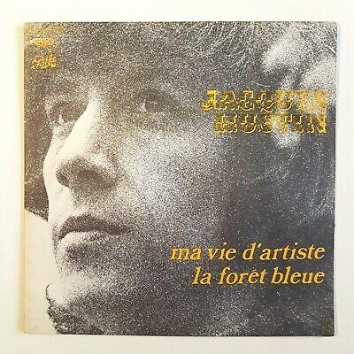 JACQUES HUSTIN : MA VIE D'ARTISTE / FORET BLEUE  ▄  45 Tours d'occasion  Expédié en Belgium