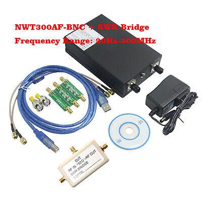 Audio Frequency Sweeper Sweeping Signal Generator Network Analyzer Nwt300af-bnc