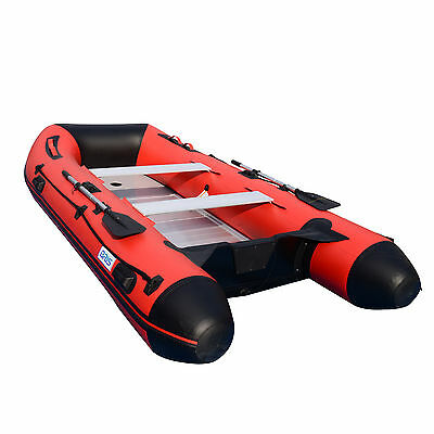 BRIS 12ft Inflatable Boat Dinghy Raft Pontoon Rescue & Dive Raft Fishing Boat