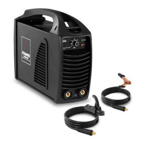 STAMOS MMA Schweissgerät 8m Kabel 250A Elektroden E-Hand IGBT Inverter 230 Volt