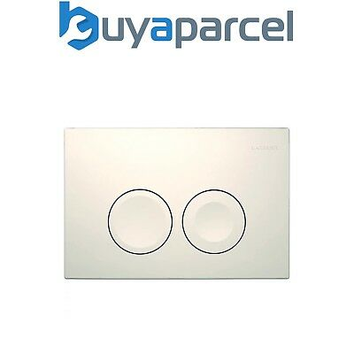 Geberit DELTA21 Alpine White Dual Flush Plate DELTA 21 UP100 Concealed Cisterns