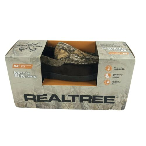 Realtree Xtra Camouflage Indoor/Outdoor Insulated Moc Slippe