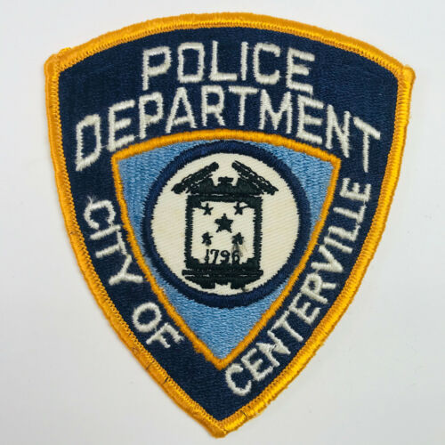 Centerville Police Ohio Patch