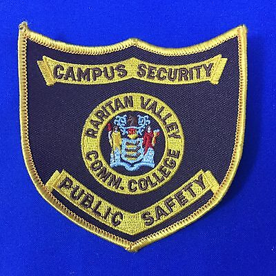 Security Raritan Valley College Public Safety N J Shoulder Patch FREE SHIPPING