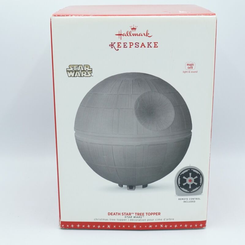 Star Wars Death Star Tree Topper 2017 w/ Star Wars Theme & Imperial March Songs