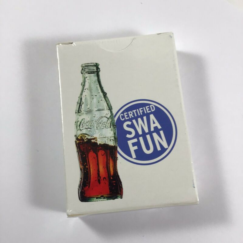 Southwest Airlines Advertisement Coca Cola Certified SWA Fun Deck Playing Cards