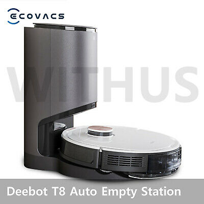 Deebot OZMO T8 Mopping Robot Vacuum Cleaner with Auto Empty Station