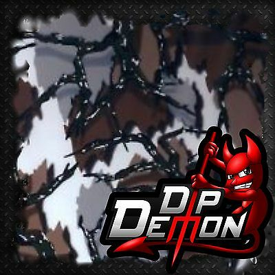 Thorn Camo Hydrographic Water Transfer Film Hydro Dipping Dipp
